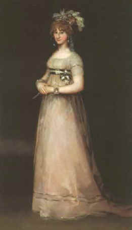 The Countess of Chinchon by Francisco Goya